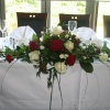Top Table - Red and White